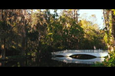 Magnolia Plantation Wedding White Bridge