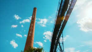 Lucky Strike Smoke Stack