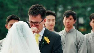 Emotional Groom Vows